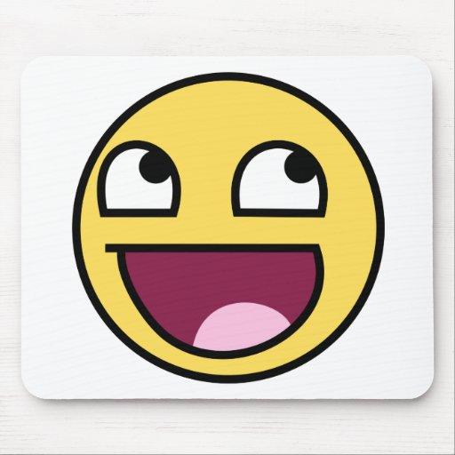 Smiley face épico Mousepad