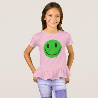 Smiley face estranho do vampiro camiseta
