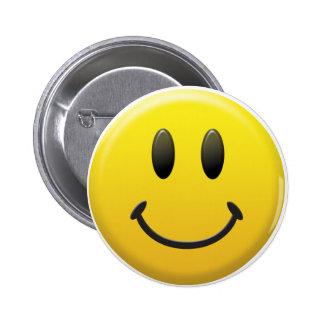 Smiley face feliz bóton redondo 5.08cm