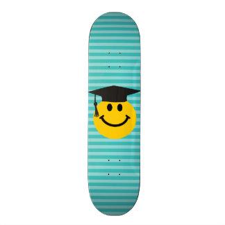 Smiley face graduado shape de skate 20,6cm