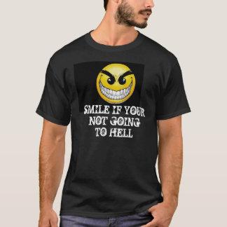 smiley-face-wallpaper-008, SORRISO SE YOURNOT GOI… T-shirt