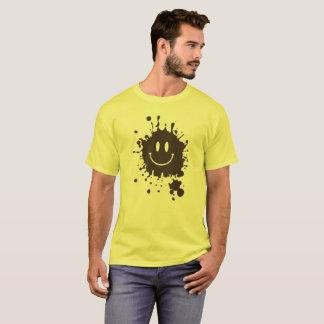 Smiley Forrest Gump da lama Camiseta