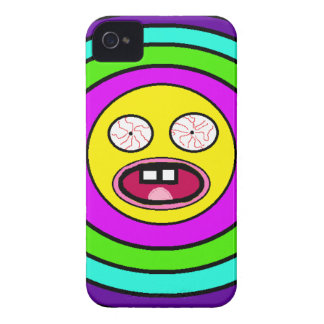 Smiley insano capa para iPhone 4 Case-Mate