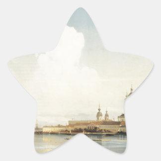 Smolny como visto de Bolshaya Okhta por Alexey Adesito Estrela