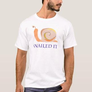 Snailed ele camiseta