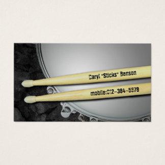 Snare do baterista e cartão de visita do músico