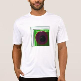 Snooker e piscina camisetas