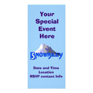 Snowbilly Panfletos Informativos