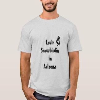Snowbird da arizona de Kokopelli Camiseta