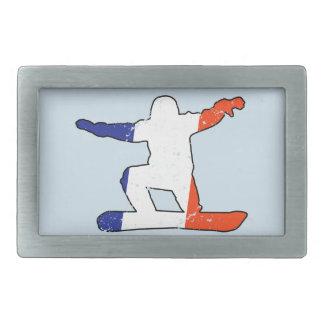 SNOWBOARDER Tricolor francês (preto)