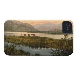 Snowdon de Glaslyn, Gwynedd, Wales Capinha iPhone 4