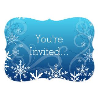 Snowdrift congelado ártico personalizado convite personalizado