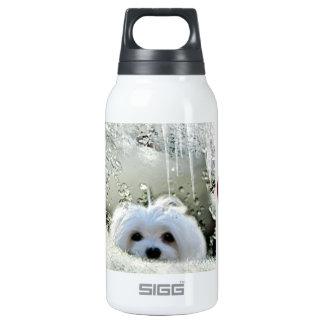 Snowdrop o maltês garrafa de água térmica