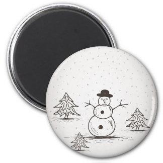 snowman2 imã