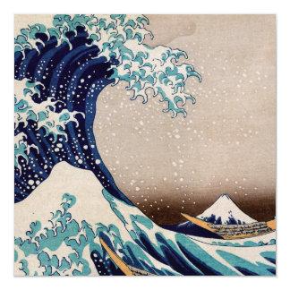 Sob a grande onda fora de Kanagawa