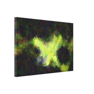 """""""Sob arte abstracta da água"""" em canvas"""