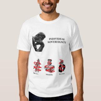 Soberania individual camiseta