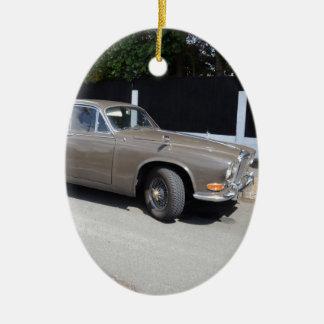 soberano de Daimler dos anos 60 Ornamento De Cerâmica Oval