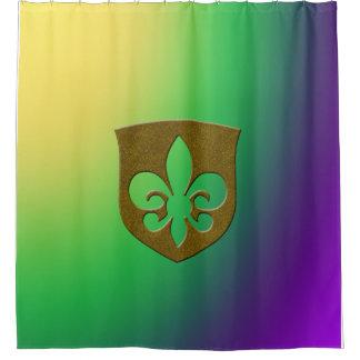 Soberano do carnaval cortina para chuveiro