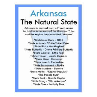 Sobre Arkansas Cartão Postal