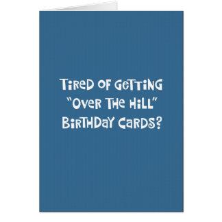 """""""Sobre cartão de aniversário engraçado do monte"""""""