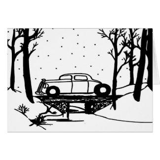 Sobre o cartão de Natal do rio por Gear4gearheads