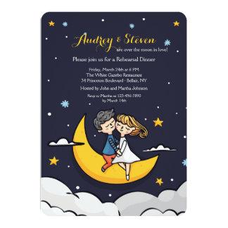 Sobre o convite do jantar de ensaio da lua