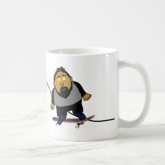 Sobre o humor do monte caneca de café