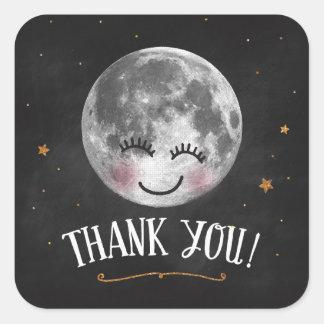 Sobre o obrigado da lua você etiqueta