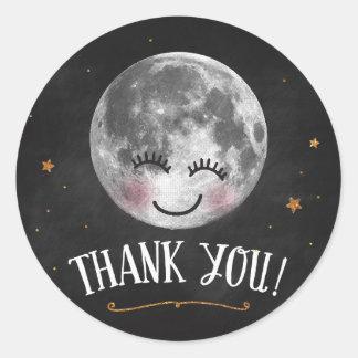 Sobre o obrigado da lua você etiquetas