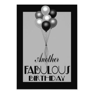 Sobre os convites fabulosos do aniversário do