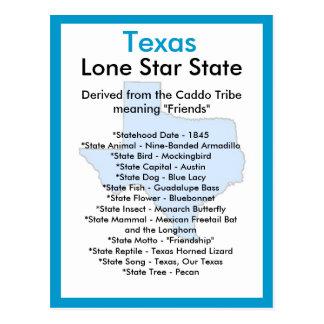 Sobre Texas Cartão Postal