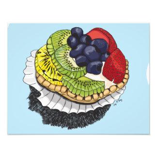 Sobremesa da galdéria da fruta impressão fotográfica