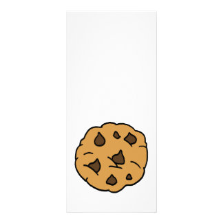 Sobremesa ENORME do biscoito dos pedaços de 10.16 X 22.86cm Panfleto