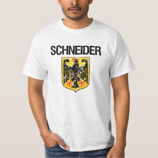 Sobrenome de Schneider Camisetas