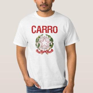 Sobrenome do italiano de Carro T-shirts