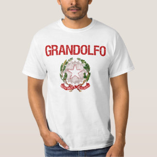 Sobrenome do italiano de Grandolfo Camiseta