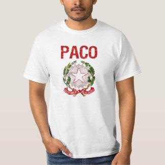 Sobrenome do italiano de Paco T-shirts