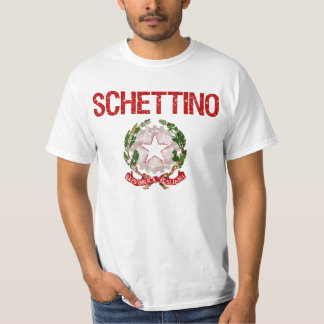 Sobrenome do italiano de Schettino T-shirts