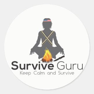 Sobreviva à etiqueta de Guru