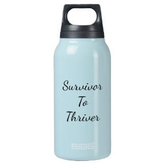 Sobrevivente à garrafa de água de Thriver Sigg