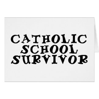 sobrevivente da escola católica cartoes