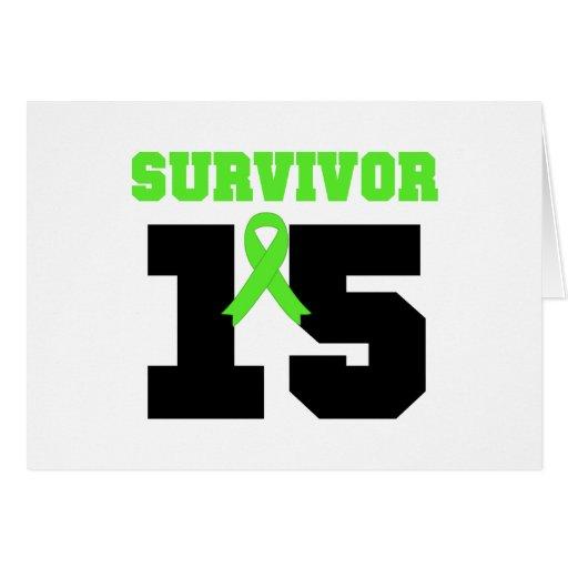SOBREVIVENTE do linfoma 15 anos Cartao