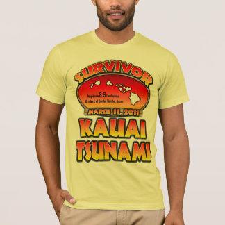 Sobrevivente - tsunami de Kauai, Havaí Camiseta