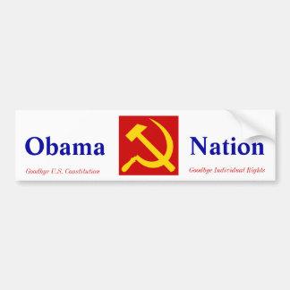 Socialista de Obama Adesivo Para Carro