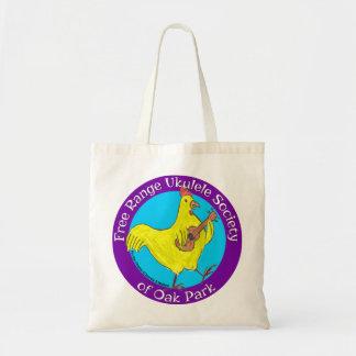 Sociedade ar livre do Ukulele da sacola Sacola Tote Budget
