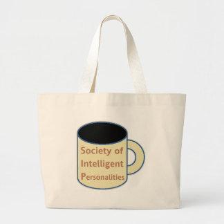 Sociedade de personalidades inteligentes (SORVO) Bolsa Tote Grande