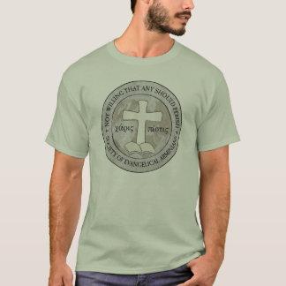 Sociedade do t-shirt evangélico de Arminians Camiseta