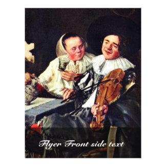 Sociedade engraçada por Leyster Judith (a melhor q Panfleto