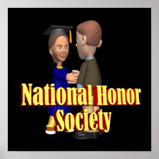 Sociedade nacional da honra posters